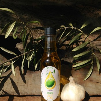 5oz Garlic Organic Olive Oil